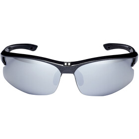 Bliz Motion M5 Bril, metallic black/smoke with silver mirror